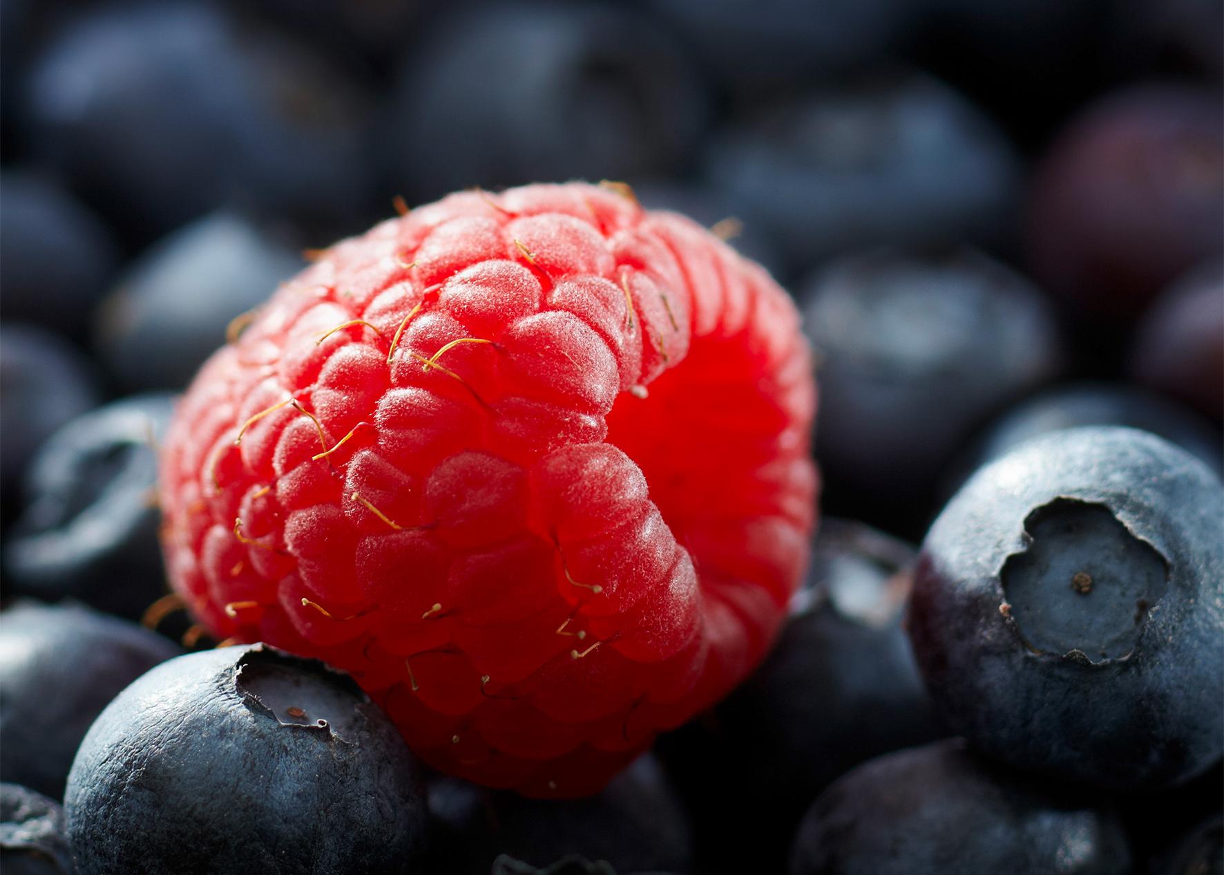 Frucht & Sinne Himbeere