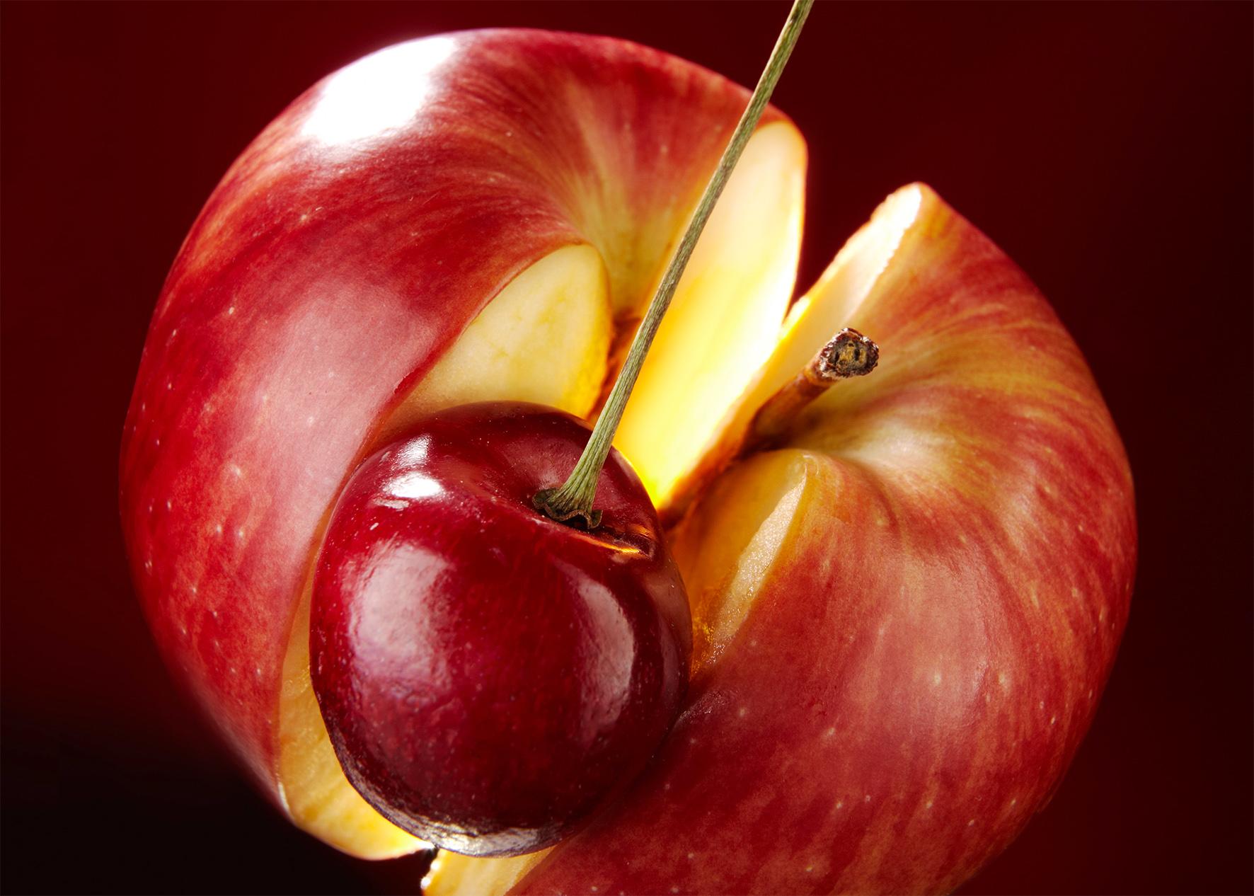 Frucht & Sinne Apfel/Kirsche